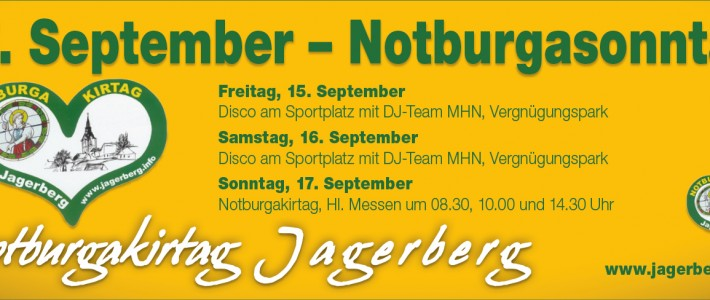 Notburgakirtag in Jagerberg – 17. September 2017